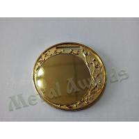 Buy cheap Shiny Gold Plating Custom Engraved Medals For Children One Side / Two Side Design from wholesalers