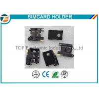 Buy cheap 3.0mm PCB Mounting SIM Card Holder With Button Release TOP-SIM05 product