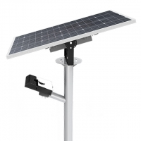 Buy cheap MPPT 100w IP66 Solar LED Street Light Mono Crystalline Time Control from wholesalers