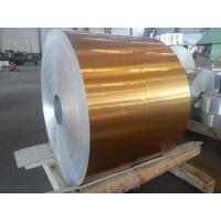 Buy cheap 8011 H14 Golden Lacquer Aluminium Coil For Medical Bottle Caps from wholesalers