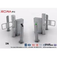 Buy cheap Semi - Automatic Swing Barrier Gate Card Readers for Door Entry Pass System product