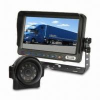 Buy cheap Vehicle Safety Reversing System with 7-inch Digital Monitor, 2 Camera Video inputs for Garbage Truck from wholesalers