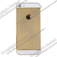 Buy cheap Blocks Golden Diamond Back Cover Replacement For iPhone 5 from wholesalers
