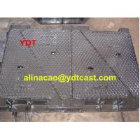 Buy cheap Customized Size ductile iron cast manhole cover from wholesalers