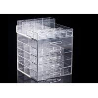 Buy cheap Detachable Top for Brush Display Classic 5 drawers Acrylic Cosmetic Makeup Organizer from wholesalers
