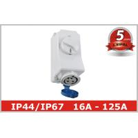 Buy cheap 220V 380V Electrical Socket Outlets with Industrial Switch Interlock from wholesalers