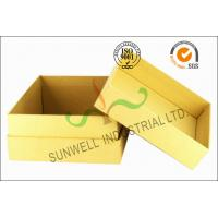 Buy cheap Kraft Paper Custom Printed Corrugated Boxes For Beauty Product Packaging from wholesalers