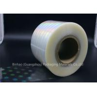 Buy cheap Clear Holographic BOPP Shrink Film 2400m - 2800m Length Thermal Laminating from wholesalers