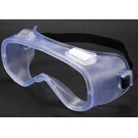 Buy cheap PC Plastic Medical Eye Goggles / Hospital Safety Goggles Scratch Resistant from wholesalers
