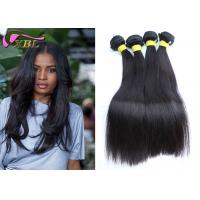 Buy cheap Coarse Unprocessed Cambodian Virgin Hair Straight Weaves Hair Extension Human from wholesalers