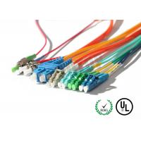 LC / SC / FC Connector Fiber Optic Patch Cord Corning G657A1 OFNR