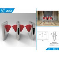 Buy cheap Security Access Control  Flap Gate Barrier Turnstile Fast Speed For Libratary Exit from wholesalers