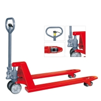 Buy cheap Power Coated 80mm Hydraulic Hand Pallet Jack from wholesalers