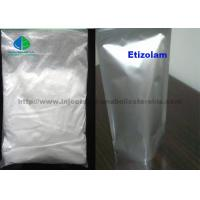 Buy cheap 99% Etizolam CAS 40054-69-1 Pharmaceutical Raw White Powder Materials For Local Anesthesia from wholesalers