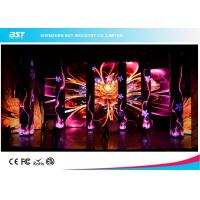 China P3.91mm LED Backdrop Screen Rental 1920hz Refresh Rate For Concert Show on sale