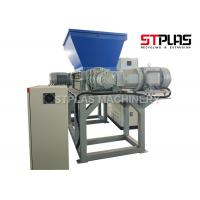 Buy cheap Waste Film Plastic Shredder Machine , Double Roller Plastic Recycling Crusher from wholesalers