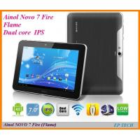 Buy cheap 7 Ainol NOVO 7 Fire Flame tablet PC  Dual core ISP 1280*800 Dual camera 1G 16G  from wholesalers