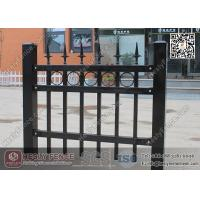 Buy cheap 1.8m X 2.1m Ornamental Welded Metal Fence Panels with Black Color PVC coated from wholesalers
