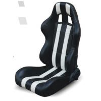 Buy cheap High performance universal sport car seats / black and white bucket seats from wholesalers