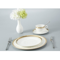 Buy cheap Odorless Porcelain Bone China Dinner Set For Wedding Gift from wholesalers