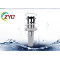Buy cheap Faucet Pop Up Sink Drain Pipe 0 - 90℃ Working Temperature High Precision Thread from wholesalers
