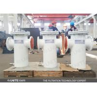 Buy cheap Industry bucket Pipeline Strainer  filter for water treatment pre filtration from wholesalers