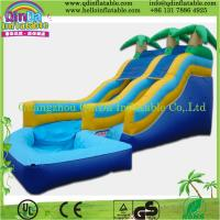 Buy cheap Commercial Giant Inflatable slide/inflatable big slide from wholesalers