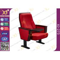 Buy cheap Chinese Carst Iron Meeting Room Seating / Lecture Hall Chairs With Speaker from wholesalers