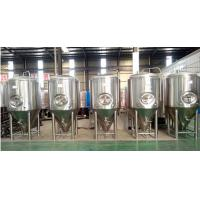 Buy cheap 220V 50Hz Bbq Pub Beer Production Equipment 60 Degree Conical Bottom from wholesalers