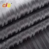 Buy cheap Sofa Upholstery Fabric With TC Backing , Dark Gray Velvet Fabric 100% Polyester product