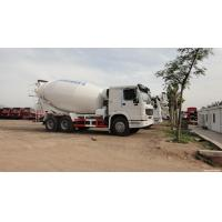 Buy cheap 10cbm Customized Cement Mixer Truck , Advance Cement Truck With 6x4 320hp Chassis from wholesalers