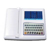 Buy cheap 12 Channel Ecg Machine 7 Inch Electrocardiogram Equipment With Full Keyboard from wholesalers