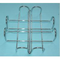 Buy cheap home free standing spiral design kitchen/toilet metal paper towel holder/rack from wholesalers