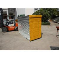 Buy cheap 0.376mm color steel MGO sandwich panel use as the wall panel for food processing from wholesalers
