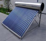 Buy cheap 0.4mm Thickness Inner Tank Non-pressurized Solar Power Water Heater For Swimming Pool from wholesalers
