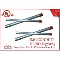 Buy cheap Hot Dip Rigid Intermediate Metal Conduit IMC Conduit Pipe 1/2 to 4 UL Listed from wholesalers