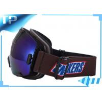 Buy cheap PC Lens Designer Photochromic Anti Fog Ski Goggles Large Vision from wholesalers