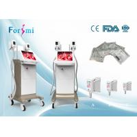 Buy cheap Delicate appearance,Three optional handles,humanized body and OS,big size screen,Cryolipolysis Slimming Machine from wholesalers