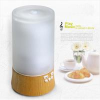 Buy cheap 120ml White oak and Glass Aroma Diffuser Ultrasonic Air Humidifier with Music from wholesalers