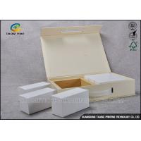 Buy cheap Logo Printed Personalised Makeup Box Cosmetic Packaging Rigid Set Up Box Style product