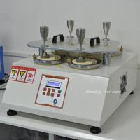 Buy cheap Martindale Abrasion Textile Testing Equipment / Pilling Tester Machine For Testing The Wearing Resistance from wholesalers