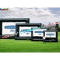 Buy cheap OEM Outside Wide Inflatable Movie Screen projection Display, Outdoor Large Screen from wholesalers