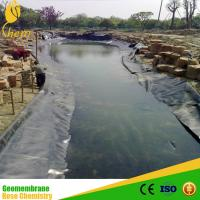 Buy cheap dam liner HDPE geomembrane for fishing tanks from wholesalers