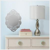 Buy cheap Adhesive decorative mirror from wholesalers