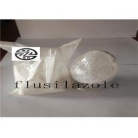 Buy cheap Organosilicon Flusilazole Fungicide 95% TC / C16H15F2N3Si White Solid from wholesalers