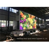 Buy cheap Outdoor Full Color Mobile LED Advertising Trailer With Hydraulic Lifting System from wholesalers