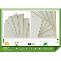 Buy cheap Degradable 1.53mm Solid and compressed Grey Cardboard sheet for Arch File from wholesalers