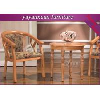 Buy cheap Round Wood Dining Table From Furniture Exporter For Supply With Good Price (YW-34) from wholesalers