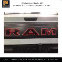 Buy cheap Modification Dodge Ram Back Door Board Tail Gate with light Black from wholesalers