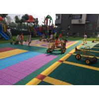 Quality Colorful Customized Removable Kindergarten Flooring Shock Absorber Green for sale
